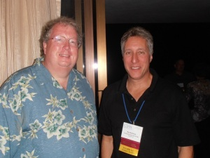 Jay Hauhn (left) and Ron Rothman at the CSAA 2013 Annual Meeting