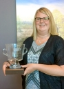 Support Person of the Year Laura Jacobson, CRC