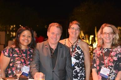 Renova's Jonathan Pine wihth TMA Staff