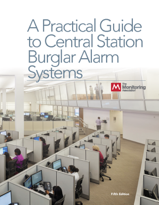 A Practical Guide to Central Station Burglar Alarm Systems 5th Edition JANUARY 2018 cover